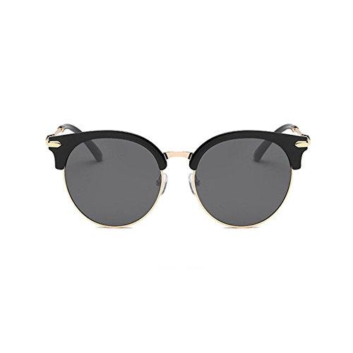 Aoligei Lunettes de soleil polarisées mâle et femelle couleur lumineuse retro lunettes de soleil tendance SdAQ0ZtA