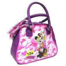 und Freizeit Tasche Minnie violett Daisy Disney Mädchen Bowling Damen vpTaxPnqa