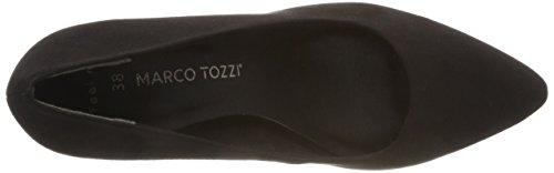 Tacco con 2 001 Nero 2 31 Donna 001 Marco Tozzi Black 22452 Scarpe 0nTxA8Z