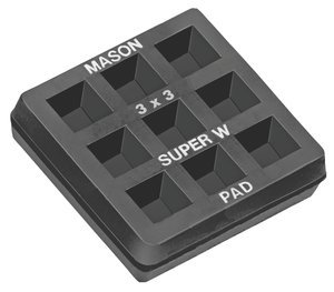 18''x18'' Base 3/4''Thk Natural Rubber Vibration Isolation Pad