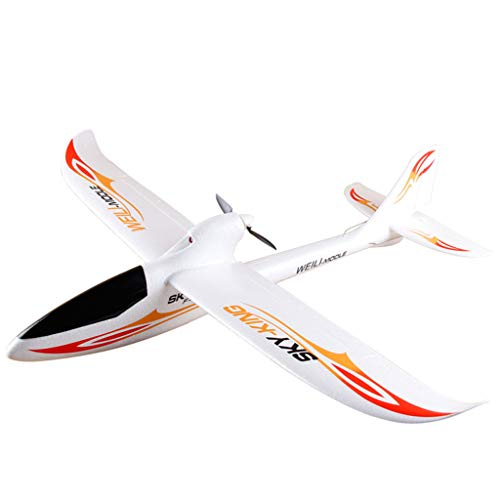 WLtoys F959 Sky King 2.4G 3CH RC Aircraft Fixed-wing Radio Control Aircraft,Outdoor Racing Controllers Helicopter Sky Rover,Rc Airplane,RC Helicopter,Drones Parts,Remote Control,Rc Plane (white) ()