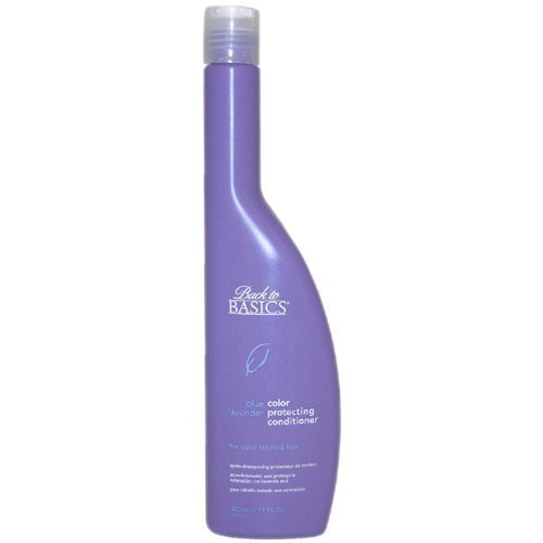 Blue Lavender Color Protecting Conditioner by Back To Basics, 11 Ounce