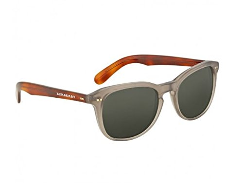Burberry BE4214 355271 Smoke Grey BE4214 Wayfarer Sunglasses Lens Category 3 - Wayfarer Burberry Sunglasses