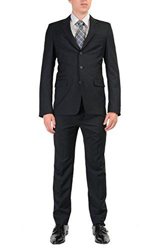 Prada Wool Black Three Buttons Men