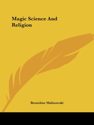 Magic Science And Religion
