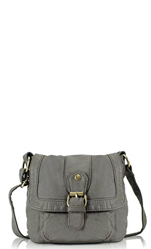 Scarleton Small Soft Washed Front Pocket Crossbody Bag H1692
