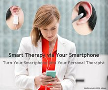 Intelligent Therapy Via iPhone - Therapy On The Move (Medicomat-1 OMass Device App with Glove for iPhone iPad iOS) by Medicomat