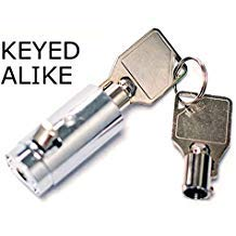 Vending Cylinder Lock and Keys for Coke, Pepsi, Dr Pepper, 7up, soda Machines by Vending-World