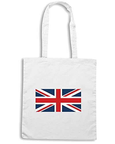 TM0260 Shopper Bianca FLAG KINGDOM Borsa UNITED w8Hx0Tnn
