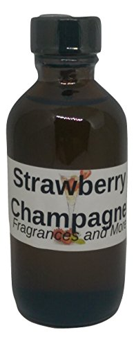 2 Ounce Champagne (Strawberries & Champagne Fragrance Oil 2 ounces, for home, candles and B&B products)