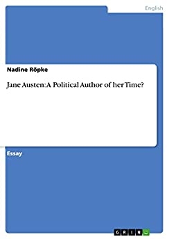 Amazon.com: Jane Austen: A Political Author of her Time