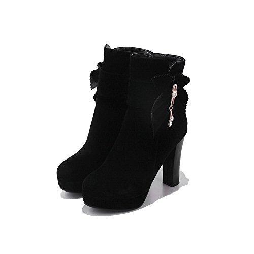 Black con EU AdeeSu SXC02618 Donna Plateau Nero 35 SISxrdwzq4