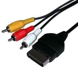 XBOX ONE 1 AV TV Composite Cable 1.8 m RCA Phonos: Amazon.es: Electrónica