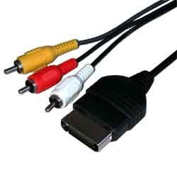 Xbox One 1 AV TV Composite Cable Lead 1.8m RCA Phonos: Amazon.co.uk ...