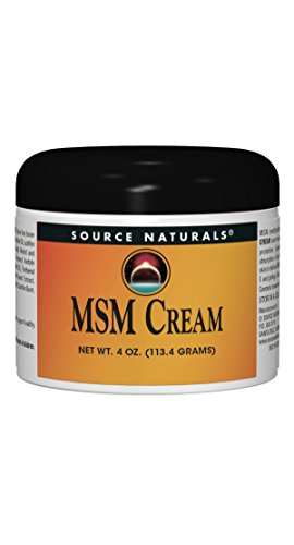 Source Naturals MSM (Methylsulfonylmethane) Cream Advanced Liposomal Delivery - 4 oz