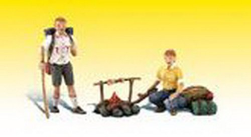 Woodland Scenics G Scale Scenic Accents Figures/People Camp - Scenic Figures Scale Accents