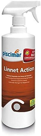 PM-121 Linnet Action: Potente Limpiador Biodegradable Especial para líneas de flotación de Piscinas y spas. Bote 1 kg.