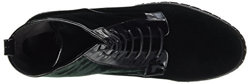 Kaiser Biker Green Schwarz 853 Lesatella Women's Peter Aloe Lack Velvo Red Boots 7qxtd7wHg