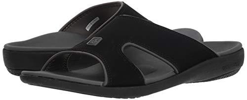 Spenco Men's Kholo Plus Slide Sandal, Carbon/Pewter, 14 Medium US by Spenco (Image #6)