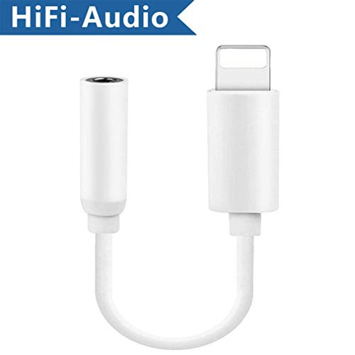Software Ipod Converter (Headphones Adapter Earphone Cable Connector Compatible for iPhone 8/8Plus /7/ 7Plus for iPhone X/10/6/6 Plus 3.5mm Hi-Fi Music Converter Extender Aux Audio Accessories Support iOS 11.4 Later)