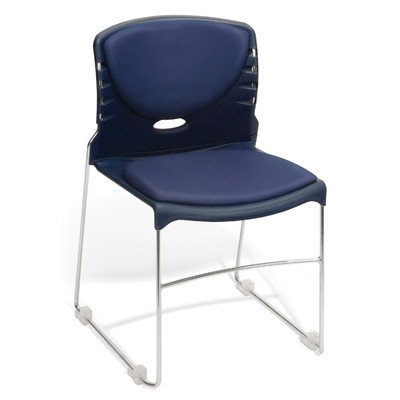 UPC 845123051368, Armless Stacking Chair (Set of 40) Seat finish: Navy