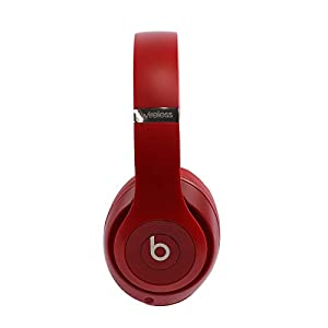 Beats Studio3 Wireless Headphones – Red (Renewed)