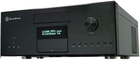Silverstone LC16B-MR HTPC Negro 320 W - Caja de Ordenador (HTPC, PC, Aluminio, ATX, Negro, 320 W): Amazon.es: Informática