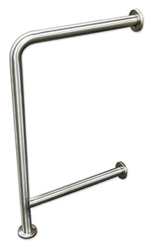 Wall to Floor Grab Bar for Drinking Fountains by Brey-Krause