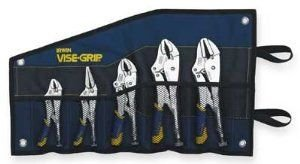 (IRWIN Tools VISE-GRIP Locking Pliers Set, Fast Release, 5-Piece (538KBT))