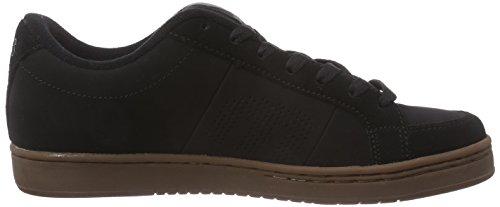 Etnies Kingpin, Men's Skateboarding Shoes Black (Black/Gum)