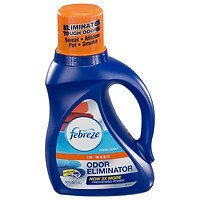 Febreze In Wash Laundry Odor Eliminator, Fresh Scent, 50 oz