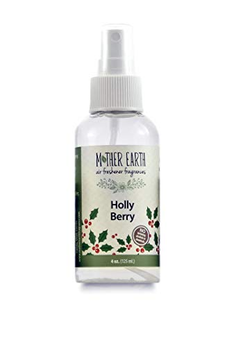(Mother Earth Fragrance Company - Pepperberry Wreath - Fresh scents of Pine, Sweet Resins, and Pepper Berry - Natural Air Freshener, 4 Ounce)