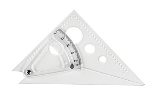 "Westcott 8"" Adjustable Triangle Scale, at-8"