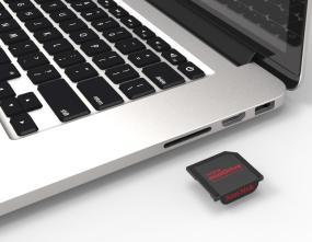 SanDisk Ultra miniDrive environmental shot