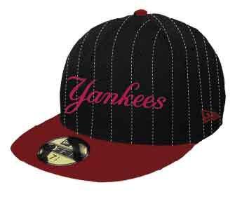428438d832816 BONE 5950 NEW YORK YANKEES MLB ABA RETA PRETO NEW ERA  Amazon.com.br ...