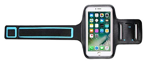 Adjustable Cell Phone Mobile Armband and Key Holder for Sport and Workout for Screen up to 6