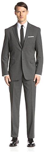 Yves Saint Laurent Men's Pinstripe Suit, Grey, - Yves Laurent Saint Clothing Mens