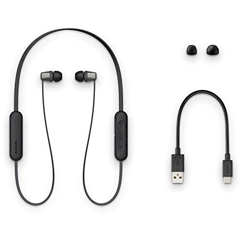 Sony WI-C310 Wireless Neck-Band Headphones with up to 15 Hours of Battery Life – Black 6