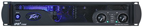 Crossovers Peavey Bass - Peavey IPR 2 2000 Ultralight Power Amplifier