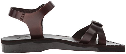 Jerusalem Sandals Women's Edna Sandal Brown WyzsC2s6X