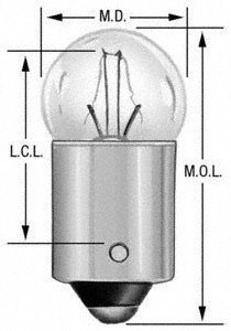 Wagner Lighting 1445 Miniature Bulb - Box of 10 (Chassis Mercedes 2000)