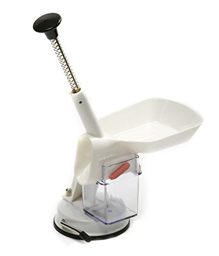 Norpro 5121 Deluxe Cherry Olive Pitter Stoner Seed Remover with Suction Base by Norpro