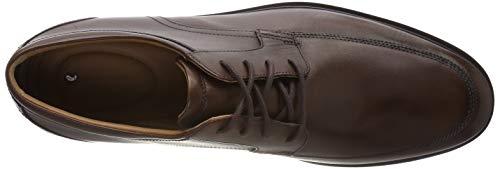 Leather Cordones tan Hombre Derby Marrón Para Un Park De Clarks Zapatos Aldric wv6XPUW4q