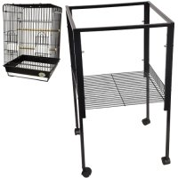 ES5 Metal Stand for All ES1818 Cages 18'W x 18'D x 32 3/8'H bird cages toy toys parakeet parrot parakeet budgie King' s Cages