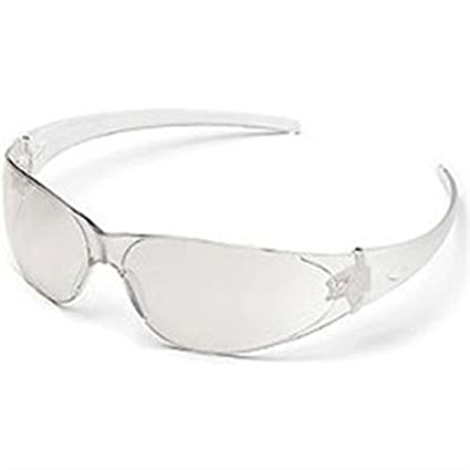 2ad8c680b16 Image Unavailable. Image not available for. Color  MCR CK110AF Crews Checkmate  Safety Glasses Clear ...
