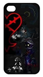 Kingdom Hearts Personalized Custom Hard CASE for iPhone 5S Durable Case Cover (WCA Designed)