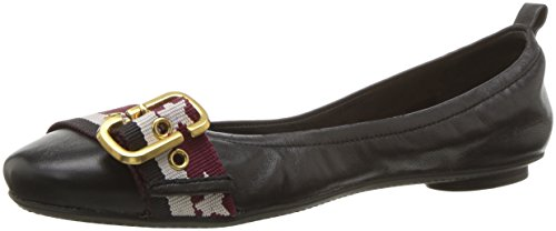 Marc Jacobs Women's Dolly Buckle Ballerina Ballet Flat Black/Multi outlet locations sale online clearance free shipping websites cheap online hNzaq