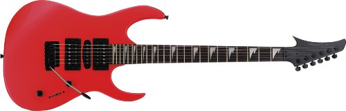 Spectrum AIL 95RD Custom Pro Series Shark Style Electric Guitar Pack, Red (Seat 3 Series Box)