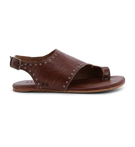 Bed|Stu Women's Misha Leather Sandal (7 M US, Teak Driftwood)