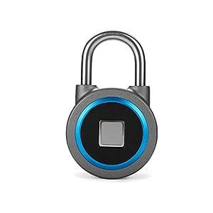 31NSsndaXnL. SS300 Smart Fingerprint Lock, Lucchetto di impronte digitali,Lucchetto Bluetooth Smart Fingerprint Lock Antifurto Impronte…